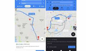 Rute Google Maps khusus sepeda motor (GSM Arena)