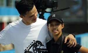 Sachi bersama ayahnya Edison Wardhana (Instagram)