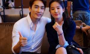 Song Seung Heon dan Liu Yifei (Drama Fever)