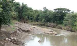 Lokasi penambangan pasir di bantaran Sungai Opak, Segoroyoso, Pleret, Bantul, Kamis (14/12/2017). (Syakirina Rahmatuzahra Utami/JIBI/Harian Jogja)