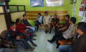 Warga mengadu ke Pusat Bantuan Hukum Perhimpunan Advokat Indonesia (PBH Peradi) Bantul, Kamis (14/12/2017). (Herlambang Jati Kusumo/JIBI/Harian Jogja)