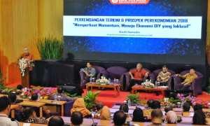 Pertemuan Tahunan Bank Indonesia 2017 dengan Memperkuat Momentum, Mewujudkan Ekonomi DIY yang Inklusif di Gedung Pusat-Ruang Seminar Lt.3 STIE YKPN, Sleman, Kamis (14/12/2017). (IST/Dok KPw BI DIY).