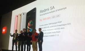 Peluncuran Xiaomi Redmi 5A di Ritz Carlton Jakarta, Rabu (20/12/2017). (Rheisnayu Cyntara/JIBI/Harian Jogja)