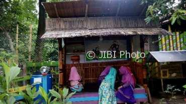 Bermain dan belajar di Taman Harmoni Dusun Karangkidul, Desa Pulosari, Kebakkramat, Karanganyar (Istimewa/Yayasan Harmoni)