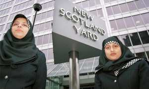 Kepolisian metropolitan di Skotlandia. (Istimewa)