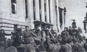 Pasukan Tiongkok menduduki Kota Seoul, Januari 1951. (Wikimedia.org)