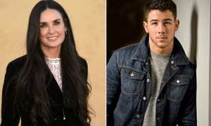 Demi Moore dan Nick Jonas (India Today)