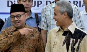 Dua calon gubernur peserta Pilgub Jateng 2018, Sudirman Said dan Ganjar Pranowo. (JIBI/Solopos/Antara/R.-Rekotomo)