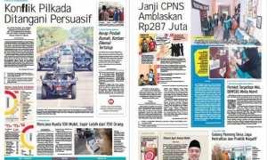 Harian Umum Solopos edisi Rabu 24 Januari 2017