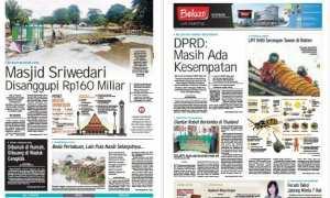 Harian Umum Solopos edisi Selasa 23 Januari 2018.