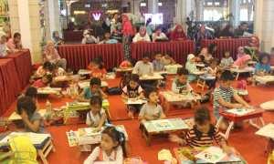 The Rich Jogja Hotel kerap mengadakan berbagai lomba untuk memfasilitasi tumbuh kembang anak.(IST/Dok The Rich Jogja Hotel)