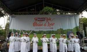 Penampilan siswa SD Muhammadiyah Pakel Program Plus Yogyakarta dalam ajang Nuvo Challenge di Lapangan Denggung Sleman, Minggu (21/1/2018). (IST/Dok Sekolah)