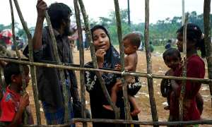 Kehidupan pengungsi Rohingya di pengungsian Cox's Bazar, Kutupalong, Bangladesh (JIBI/Reuters/Mohammad Ponir Hossain)