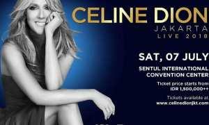 Konser Celine Dion (Twitter)