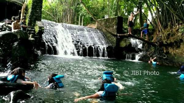 Suasana di wisata air Blue Lagoon, Selasa (3/1/2018). (Bernadheta Dian Saraswati/JIBI/Harian Jogja)
