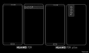 Konsep Huawei P20. (Istimewa)