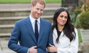 Pangeran Harry dan Meghan Markle (Glamour)