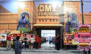 Pembukaan DMZ 3D Museum di Kota Lama Semarang. (Twitter.com-@PemkotSemarang)