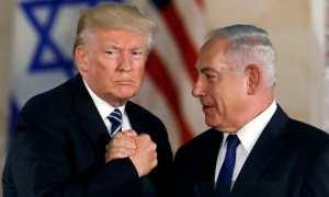 Presiden AS, Donald Trump, dan Perdana Menteri Israel, Benjamin Netanyahu. (Abc.net)