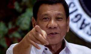 Presiden Filipina, Rodrigo Duterte. (Reuters)
