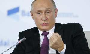 Presiden Rusia, Vladimir Putin. (Reuters/Alexander Zemlianichenko)