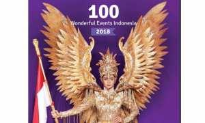 Sampul buku 100 Wonderful Events Indonesia 2018