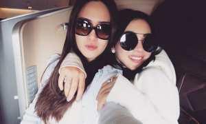 Shandy Aulia dan Syahrini (Instagram @shandyaulia)