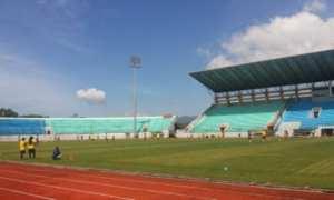 Situasi Stadion dr. H. Moch Soebroto. (Twitter.com)