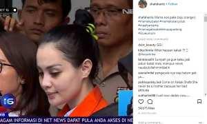 Tanggapan Shafa Harris terkait kasus Jedun (Instagram @shafaharris)