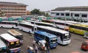 Ilustrasi aktivitas Terminal Terboyo Kota Semarang, Jateng. (JIBI/Solopos/Antara)