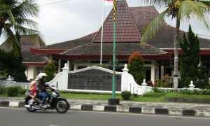 Gedung DPRD Sleman, Kamis (18/1/2018). (Harian Jogja/Abdul Hamid Razak)