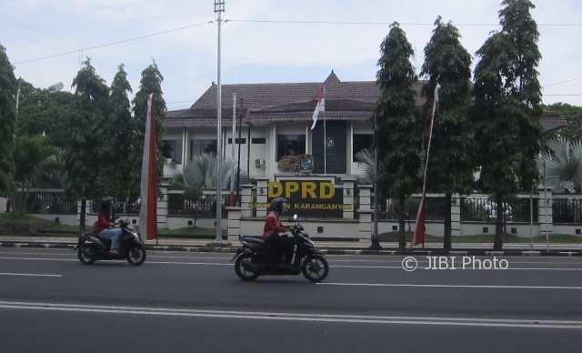Gedung DPRD Karanganyar (Ponco Suseno/JIBI/Solopos)