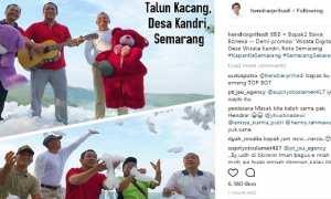 Foto yang dipamerkan Wali Kota Semarang Hendrar Prihadi di Instagram, Jumat (19/1/2018), demi mempromosikan Desa Wisata Kandri. (Instagram-@hendrarprihadi)