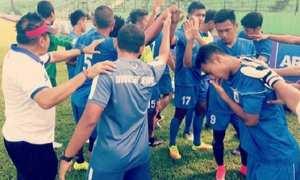 Pemain PSIS Semarang bersiap menjelang laga melawan Arema FC di Stadion Gajayana, Malang, Jatim, Kamis (4/1/2018). (Instagram-@psisfcofficial)