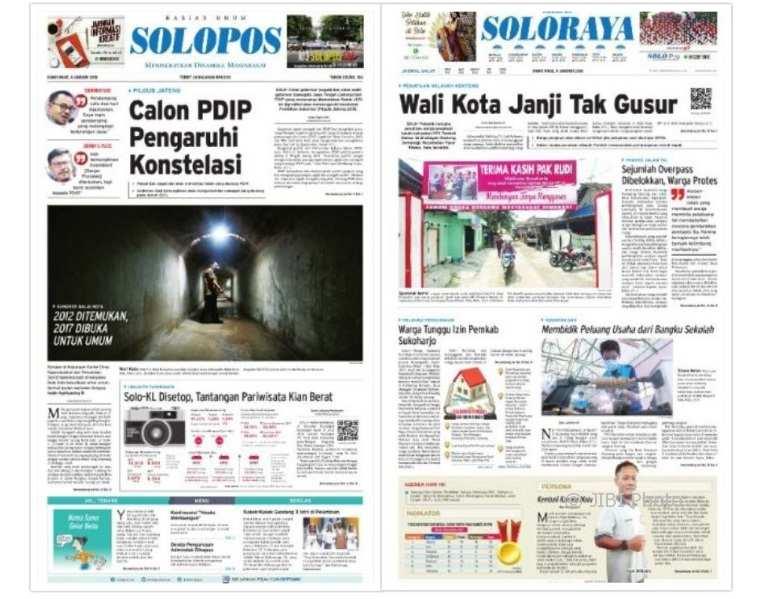 Solopos edisi Kamis, 4 Januari 2018.