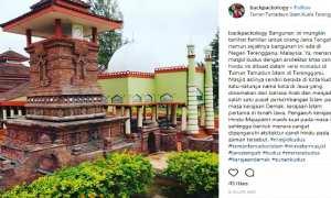 Tiruan menara Masjid Menara Kudus di Malaysia. (Instagram-@backpackology)