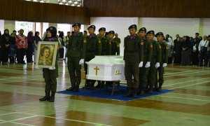 upacara pelepasan jenazah Prof. Sudarmanto Jatman.