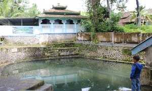 Sendang Pengilon di Desa Kahuman, Kecamatan Ngawen. (Taufiq Sidik Prakoso/JIBI/Solopos)