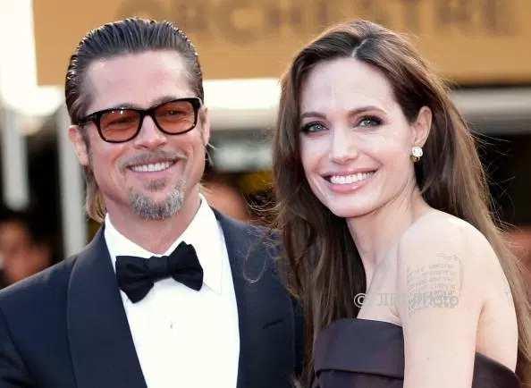 Brad Pitt dan Angelina Jolie (The Sun)