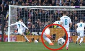 Cuplikan penalti hantu Cristiano Ronaldo (as.com)
