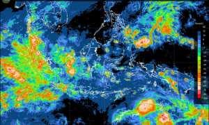Gambaran cuaca ekstrem di berbagai lokasi di Indonesia (BMKG)