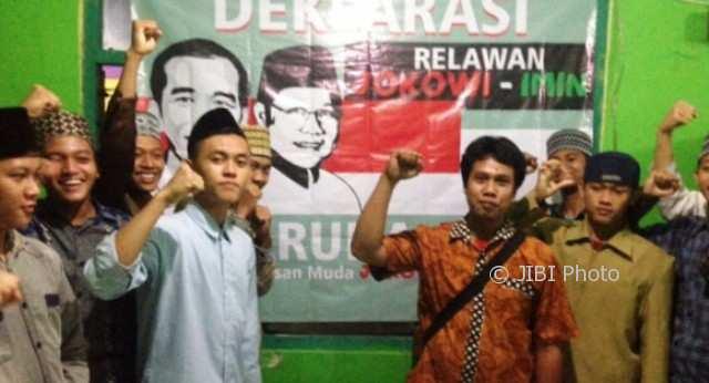 Gerakan Pemuda Jokowi Imin (Gerdu Join) mendeklarasikan dukungan atas pencalonan Joko Widodo-Muhaimin Iskandar dalam Pilpres 2019 di Semarang, Jumat (2/2/2018). (JIBI/Solopos/Antara/Istimewa-Gerdu Join Semarang)