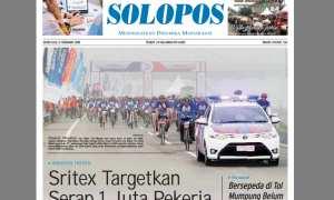 Halaman Depan Harian Umum Solopos edisi Senin, 5 Februari 2018