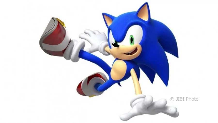 Ilustrasi karakter Sonic di game Sonic the Hedgehog (Youtube)