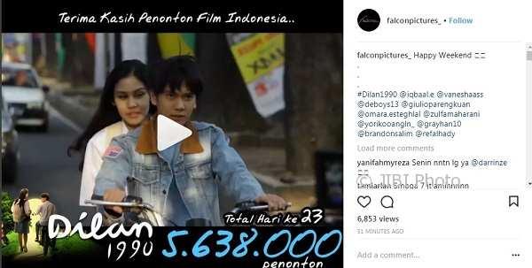 Dilan 1990 Filem Indonesia 2018 Filem Wayang Hiburan Forum