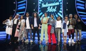 Kontestan Indonesian Idol 2018 di babak spektakuler kedua (Instagram @indonesianidolid)
