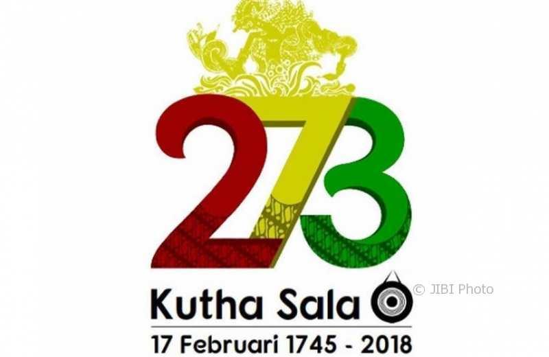 Logo peringatan HUT ke-273 Kota Solo