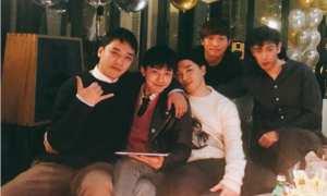 Member Big Bang berkumpul sebelum G-Dragon dan Taeyang wamil (Instagram)