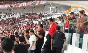 Momen-momen saat Anies Baswedan dihadang paspampres (Facebook)