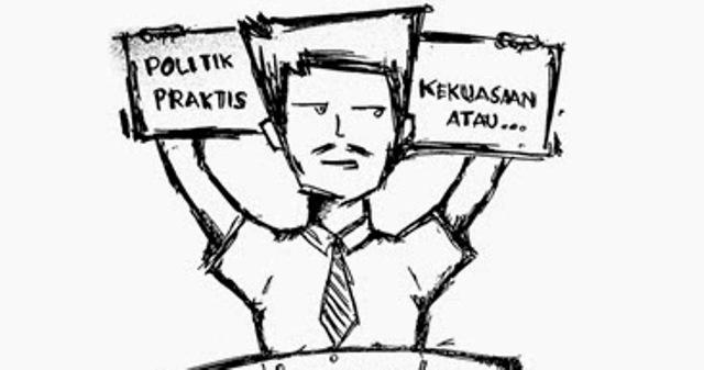 Politik dan kampus (ilustrasi: inikampus.com)